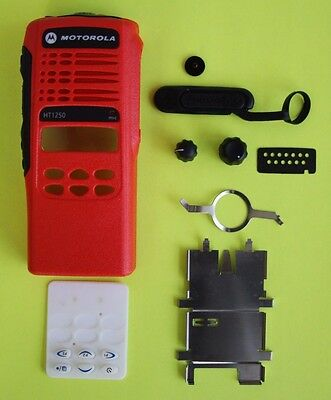 RED Motorola HT1250 Limited Keypad 16 Channel Refurb Housing Kit