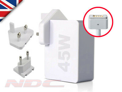 45W UK/EU Power Supply Adapter/Charger for Apple Macbook Air 13/11 A1466/A1465