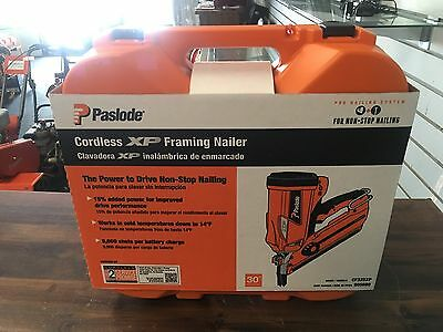 BRAND NEW IN CASE* Paslode Cordless Li-Ion XP Framing Nailer CF325XP 905600