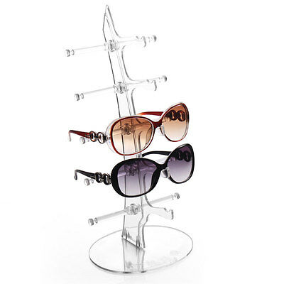 5 Layers Eyeglasses Sunglasses Glasses Display Stand Holder Shelf Tool