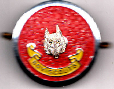 Old Boy Scouts Badge 1 1/2 inches Accross Stokes Melb