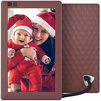 Nixplay Seed 7 inch WiFi Digital Photo Frame - Mulberry