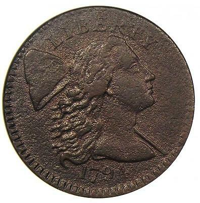 1794 Liberty Cap Large Cent 1C - ANACS XF Details (EF) - Net VF30 - Rare Coin