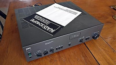 NAD 3240PE Stereo Amplifier 2nd Owner Since New w/ Manual