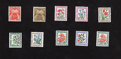 Timbres Taxe Lot