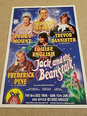 Jack and the Beanstalk - Poole Arts Centre - Theatre Poster - 1996-97