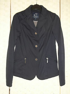 EQUETECH Soft Shell - stretch junior competition jacket.Sz 28 Age 6 to 10.. VGC