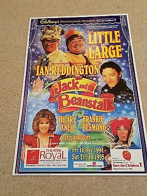 Jack and the Beanstalk - Theatre Royal Newcastle - Theatre Poster - 1994-95