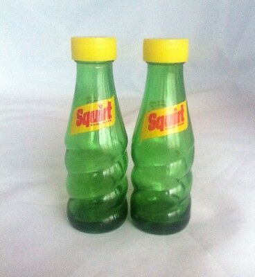 Squirt Glass Salt And Pepper Shakers