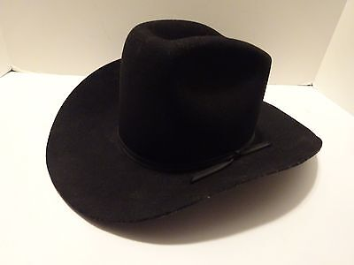 Vintage TRAIL HERD Cowboy Hat by LYNBROOK Size 6 3/4 - Excellent