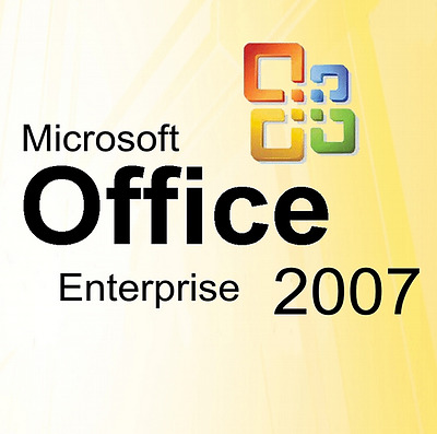 Microsoft Ms Office Professional 2007 Originale Deutsche Vollversion!!!