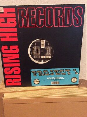 """Project One : Roughneck: 12"""" Vinyl: Old Skool Rave RISING HIGH"""