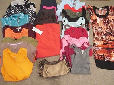 HUGE lot of Womens size Medium 8 and 10 clothing