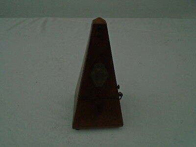 Vintage Mahogany Paquet Metronome with Bell