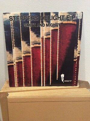 """Smith And Mighty- Steppers Delight EP: 12"""" Vinyl: Old Skool Rave"""