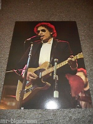 "Bob Dylan - Original 1974 Rising Signs Large Poster Card - 8 1/2"" X 11"""