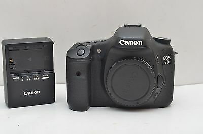 Used Canon EOS 7D 18.0 MP Digital SLR Camera Body only Good working Condition