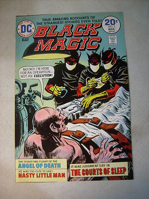 BLACK MAGIC #3 COVER ART original approval cover proof 1970's, ANGEL OF DEATH