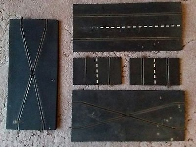 Old/Rare Triang Scalextric Track x 4 (pre lug connection)