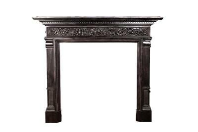 Early 19Th Century George Iii Cast Iron Fireplace