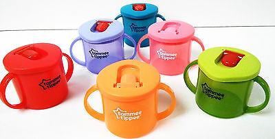 Tommee Tippee New Colours Freeflow First Cup  190ml age 4m+ boys/girls bpa free