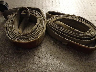 "(2) Lifting Straps 12'x 2"" Nylon"