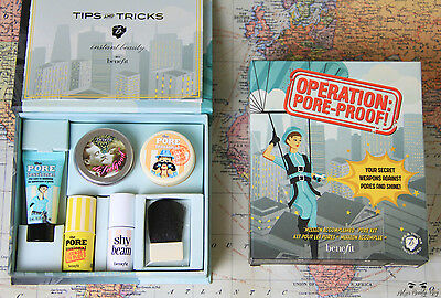 Benefit Operation Pore Proof * POREfessional complexion kit * Brand New in Box
