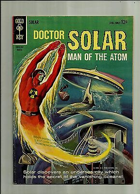 Doctor Solar Man Of The Atom #7 1964  Gold Key Silver Age Comics