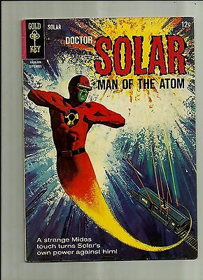 Doctor Solar Man Of The Atom #14 1965  Gold Key Silver Age Comics  Fn+