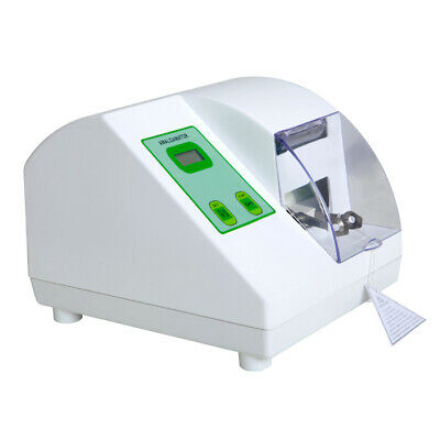 Dentist High Speed Amalgamator Amalgam Capsule Mixer Dental Lab Equipment Green