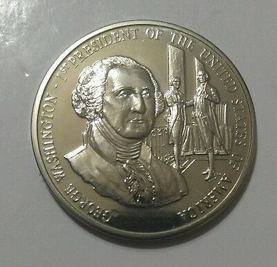 """George Washington """"1st President of the United States of America"""" uncirculated"""