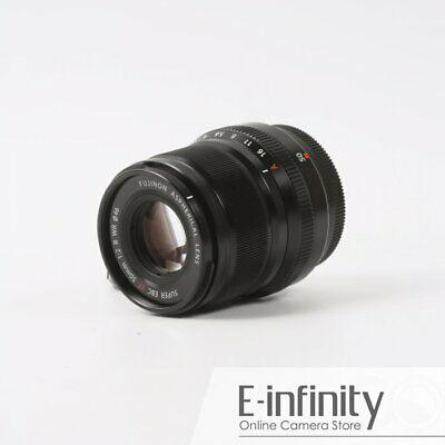 NEW Fujifilm XF 50mm f/2 R WR Lens (Black)