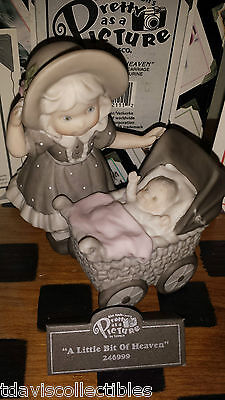 LITTLE BIT OF HEAVEN ~ Baby Carriage ~ Kim Anderson Pretty As Picture 246999