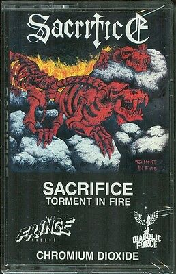 SACRIFICE Torment In Fire Cassette Rare Canadian Metal Sealed!