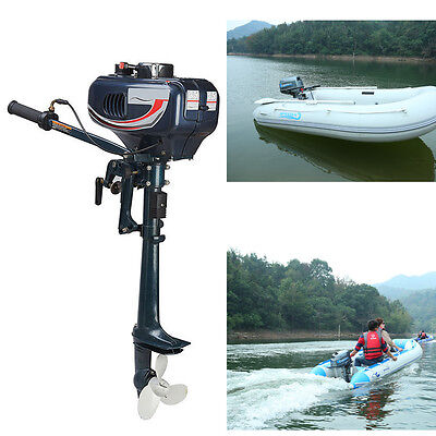 2 Stroke Outboard Engine 3.5HP Petrol Power Fishing Boat Engine Motor CDI System