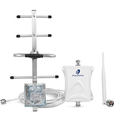 700MHz 70dB Gain Signal Booster 4G call Repeater with Yagi antenna for Verizon4G