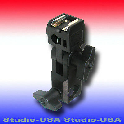 One Swivel Speedlite Mount Shoes With Light Stand Connector