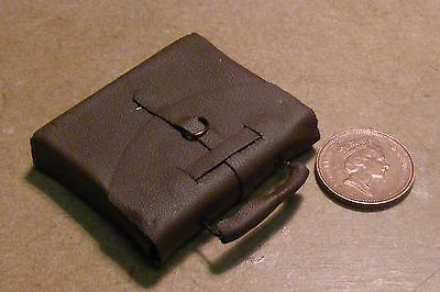 1:12 Scale Dolls House Miniature Non Opening Brown Brief Case Luggage Office