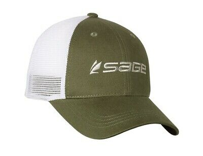Sage Mesh Back Cap - Green