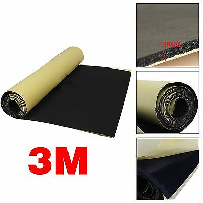 3M Roll Car Van Sound Proofing Deadening Insulation Closed Cell Foam Thick 3mm