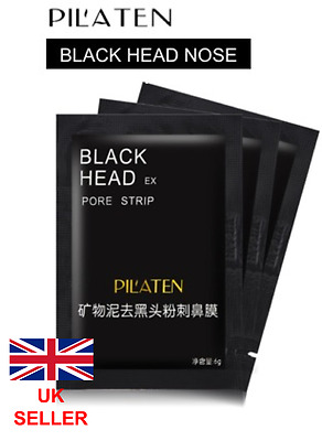 PILATEN Blackhead Removal Pore Cleansing Nose Strips  / Black Head Face mask