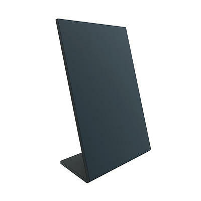 A4 & A5 Chalkboard Menu Sign Display Stand Slate Effect Board Twin Pack