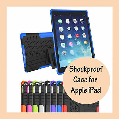 Shockproof Stand Heavy Duty Case Cover for Apple iPad Air 2 Mini 1 3 4 Pro
