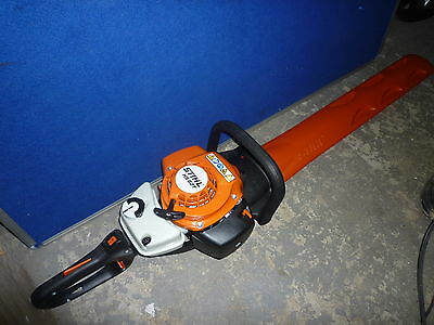 """Stihl HS 82 T Petrol Hedge CUTTER 30"""" 75cm double sided blade brand new boxed"""