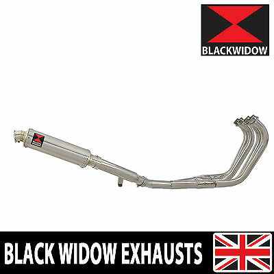 Yamaha Xj 600 Diversion S N 4-1 Exhaust System Round Stainless Silencer Sn35R
