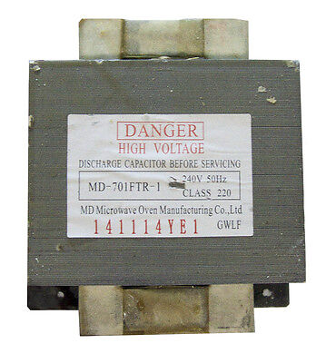 Microwave Oven - Transformer Replacement Part Md-701Ftr-1