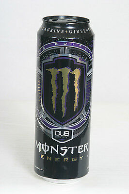 Monster DUB Edition Energy Drink Can - 18.6oz - Empty  - 12/10/15