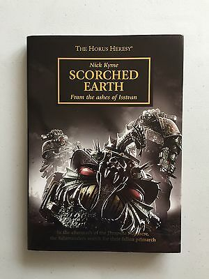 Warhammer 40,000 40K Black Library Novel Scorched Earth Hardback Horus Heresy