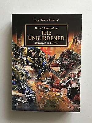 Warhammer 40,000 40K Black Library The Unburdened Hardback Horus Heresy