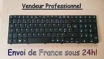 Keyboard Keyboard AZERTY Compatible Packard Bell EasyNote EN LM81 LM82 LM83 LM85